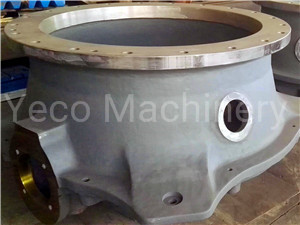 Lower Frame Metso GP200