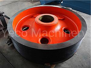 Metso C100 Flywheel